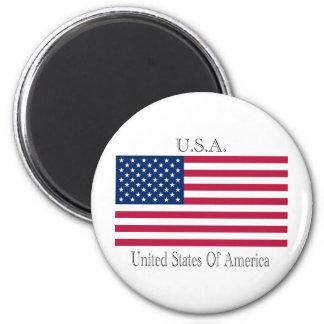 U.S.A.  flag Magnet