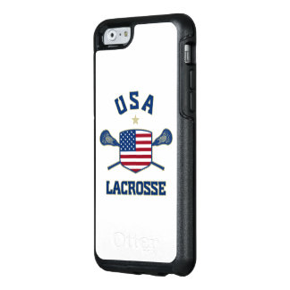 U.S.A Lacrosse Phone Case