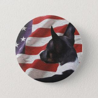 U.S.A. Rat Terrier Pin