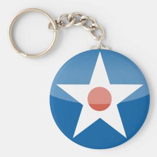 U.S.A.  Retro Keychain