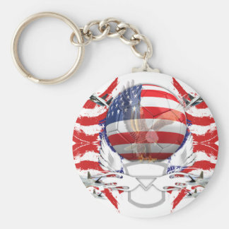 U.S.A. Soccer Keychain