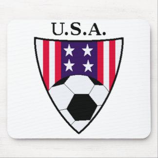 U.S.A Soccer Mouse Pad