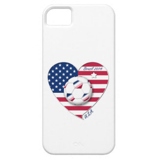 """""""U.S.A."""" Soccer Team Soccer of the United States 2 iPhone 5 Cases"""