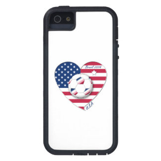 """""""U.S.A."""" Soccer Team Soccer of the United States 2 iPhone 5 Cover"""