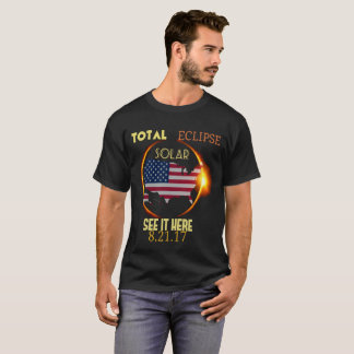 U.S.A. Total Solar Eclipse August 21st T-Shirt