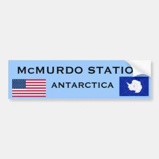 U.S. - Adhésif pour pare-chocs de McMurdo Autocollant De Voiture