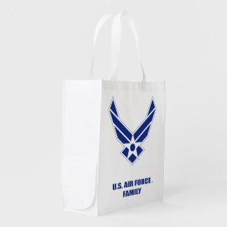 U.S. Air Force Family Reusable Grocery Bag