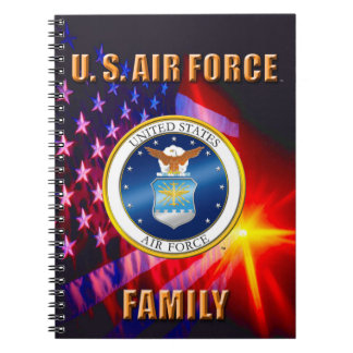 U.S. Air Force Family Spiral Photo Notebook