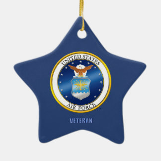 U,S. Air Force Gifts Ceramic Ornament