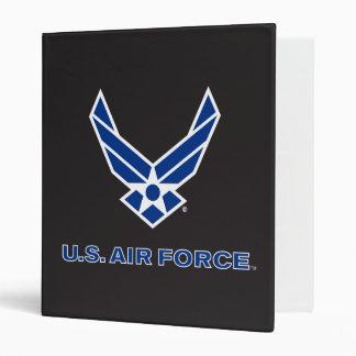 U.S. Air Force Logo - Blue 3 Ring Binder