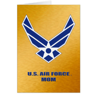 U.S. Air Force Mom Card