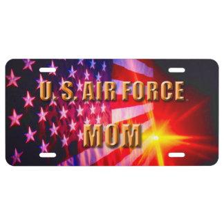 U.S. Air Force Mom License Plate