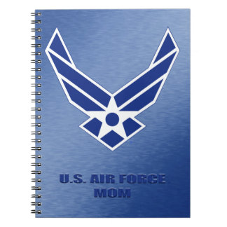 U.S. Air Force Mom Spiral Photo Notebook