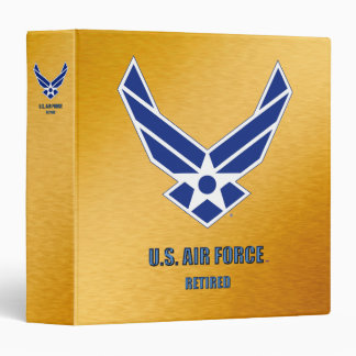 "U.S. Air Force Retired Avery Signature 1.5"" Binder"