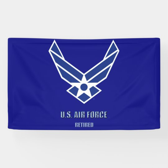 U.S. Air Force Retired Banner