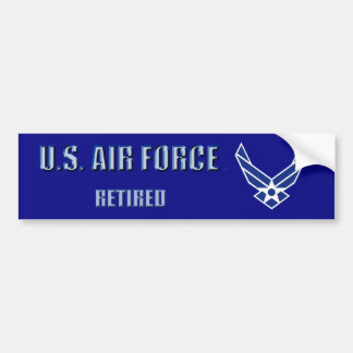 U.S. Air Force Retired Bumper Sticker