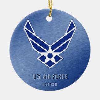 U.S. Air Force Retired Ceramic Ornament