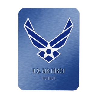 U.S. Air Force Retired Flexible Photo Magnet