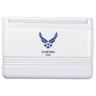 U.S. Air Force Retired Igloo Can Cooler