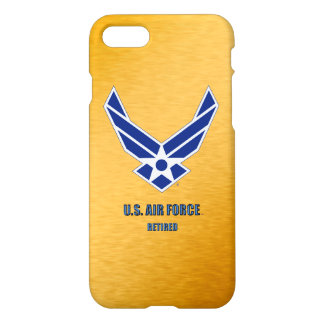 U.S. Air Force Retired iPhone Case