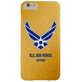 U.S. Air Force Retired iPhone & Samsung Barely There iPhone 6 Plus Case