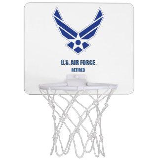 U.S. Air Force Retired Mini Basketball Hoop
