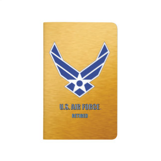 U.S. Air Force Retired Pocket Journal