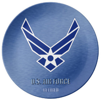 U.S. Air Force Retired Porcelain Plate