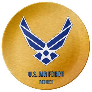 U.S. Air Force Retired Porcelain Plate