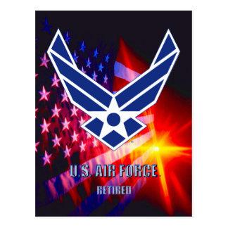 U.S. Air Force Retired Postcard
