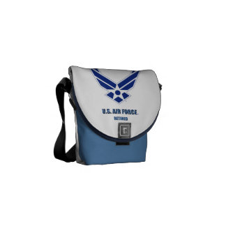 U.S. Air Force Retired Rickshaw Messenger Bag