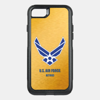 U.S. Air Force Retired Various Otterbox Cases