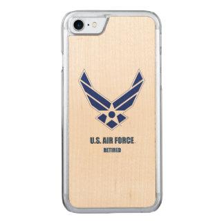 U.S. Air Force Retired Wood Case