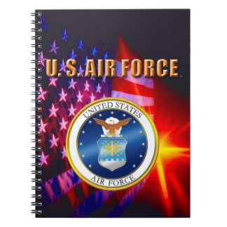 U.S. Air Force Spiral Photo Notebook