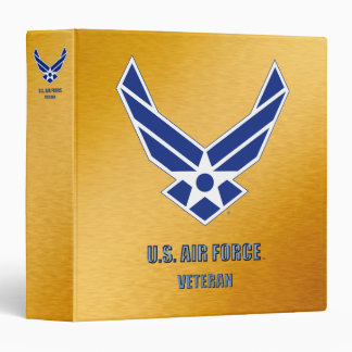 "U.S. Air Force Veteran Avery Signature 1.5"" Binder"