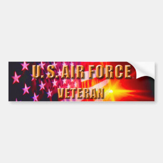 U.S. Air Force Veteran Bumper Sticker