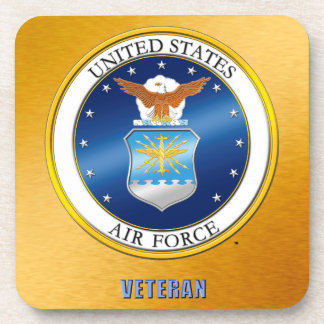 U.S. Air Force Veteran Hard plastic coaster