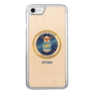 U.S. Air Force Veteran iPhone/Samsung Wood Case