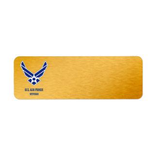 U.S. Air Force Veteran Label
