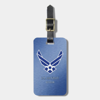 U.S. Air Force Veteran Luggage Tag