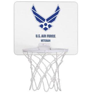 U.S. Air Force Veteran Mini Basketball Hoop