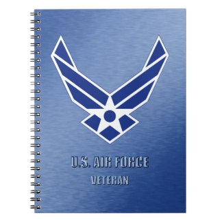 U.S. Air Force Veteran Spiral Photo Notebook