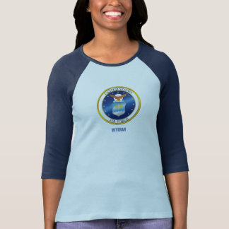U.S. Air Force Veteran Women's Bella+Canvas T-Shirt