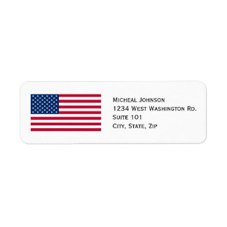 U.S. American Flag Custom Personalized