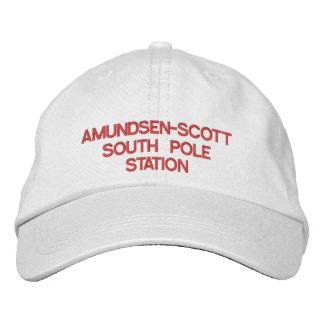 U.S. Amundsen-Scott South Pole Station Hat Embroidered Hats