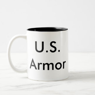 U.S. Armor Two-Tone Coffee Mug