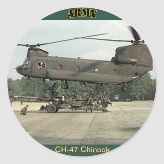 U.S. Army CH-47 Chinook Sticker