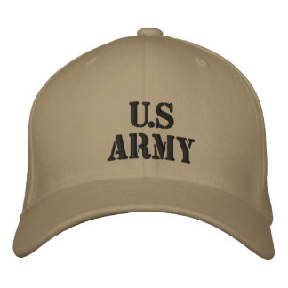 U.S Army Embroidered Hat