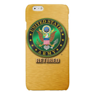 U.S. ARMY RET Savvy iPhone 6/6s Glossy Finish Case