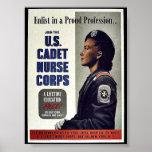 U.S. Cadet Nurse Corps Posters